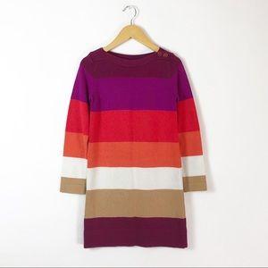 Gap Kids Girls Color Block Sweater Dress